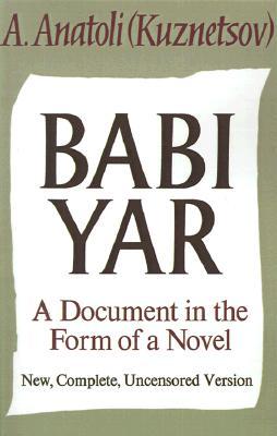 Babi Yar By Anatoli, A./ Floyd, David (TRN)
